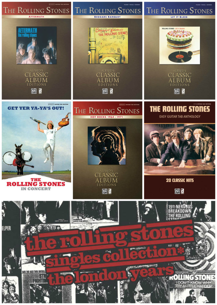 The Rolling Stones' Songbooks Released on iBookstore | ABKCO