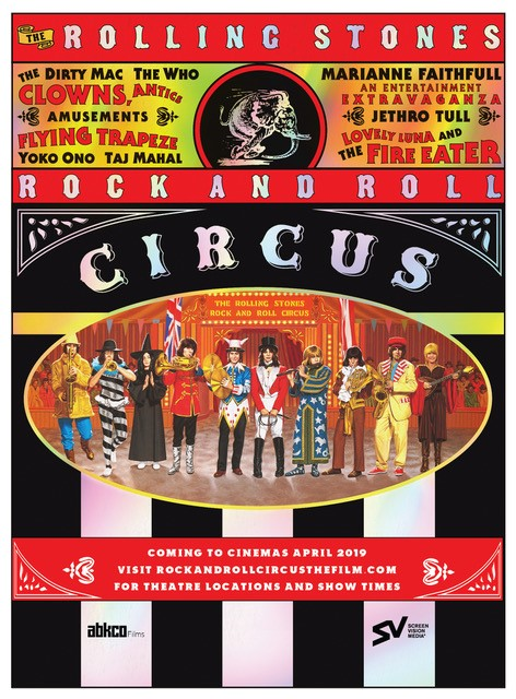 The Rolling Stones Rock and Roll Circus in Theatres | ABKCO Films